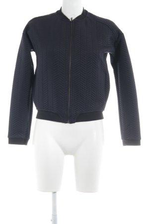 Mango Suit Sweat Jacket dark blue-black