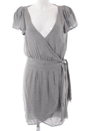 Mango Suit Sweatkleid hellgrau klassischer Stil