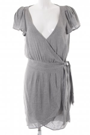 Mango Suit Sweat Dress light grey classic style