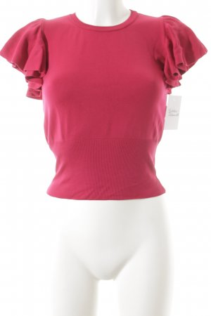Mango Suit T-Shirt magenta Casual-Look