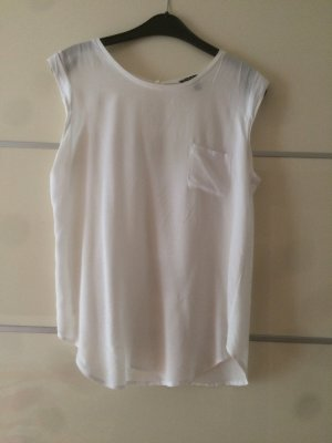 *Mango Suit* Top/Shirt in weiß