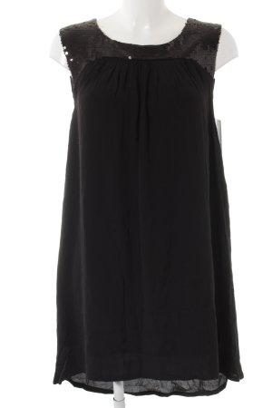 Mango Suit Trägerkleid schwarz Elegant