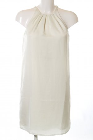 Mango Suit Trägerkleid weiß Elegant