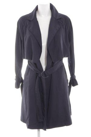 Mango Suit Trenchcoat bleu style décontracté