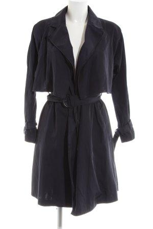 Mango Suit Trenchcoat blau Casual-Look
