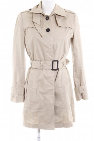 Mango Suit Trenchcoat creme klassischer Stil