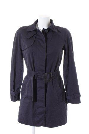 Mango Suit Trenchcoat dunkelblau Business-Look