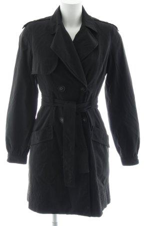 Mango Suit Trenchcoat schwarz Elegant