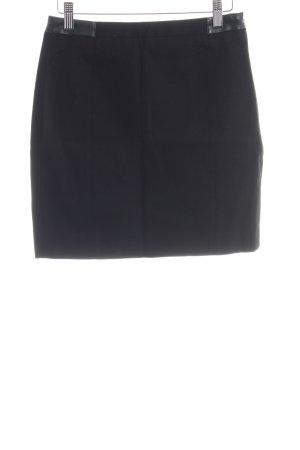 Mango Suit Tulprok zwart zakelijke stijl