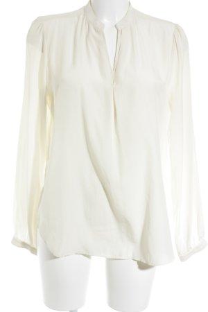 Mango Suit Tunikabluse hellbeige Business-Look