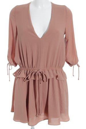 Mango Suit Tunikakleid lachs-apricot Romantik-Look