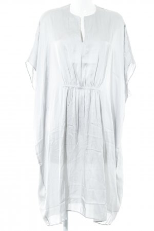 Mango Suit Tunic Dress silver-colored casual look
