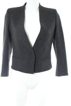 Mango Suit Blazer in tweed grigio scuro-grigio puntinato stile professionale