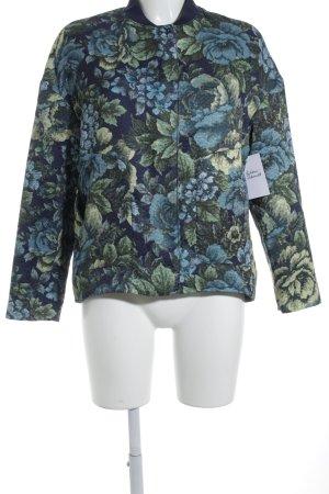Mango Suit Übergangsjacke Blumenmuster Street-Fashion-Look