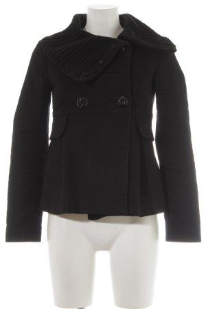 Mango Suit Übergangsjacke schwarz Casual-Look