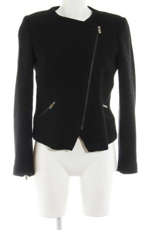 Mango Suit Übergangsjacke schwarz schlichter Stil