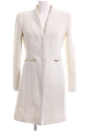 Mango Suit Übergangsmantel wollweiß Business-Look