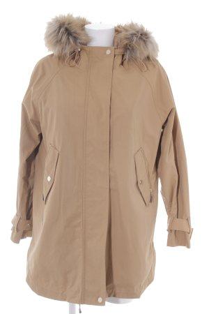 Mango Suit Übergangsmantel camel schlichter Stil
