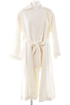 Mango Suit Übergangsmantel creme extravaganter Stil