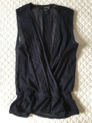 MANGO Suit Wickeltop, Gr. S, Neuwertig