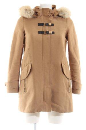 Mango Suit Winterjacke nude Casual-Look