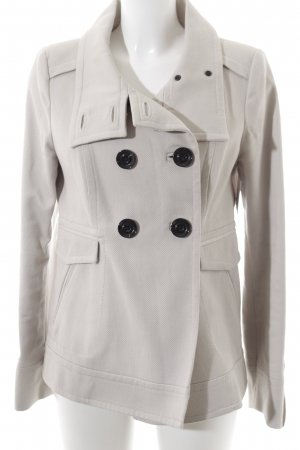 Mango Suit Winterjacke hellgrau Casual-Look