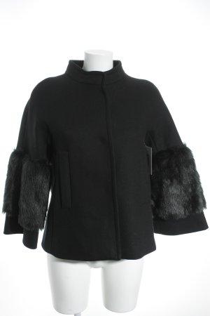 Mango Suit Winterjacke schwarz Casual-Look