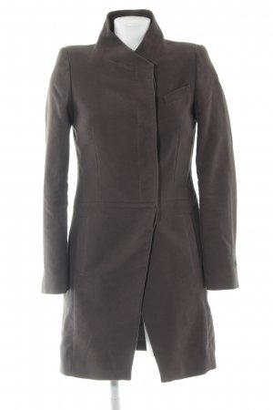 Mango Suit Wintermantel grüngrau Casual-Look