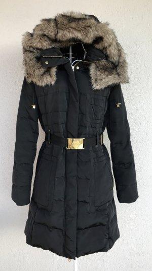 Mango Suit Wintermantel schwarz Gr.S