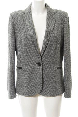 Mango Suit Blazer en laine noir-gris clair motif pied-de-poule style anglais