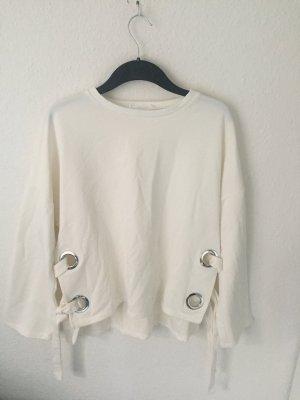 Mango Sweater mit Details Creme