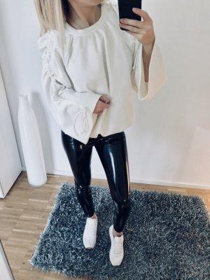 Mango Sweater S 36 Creme Oversize