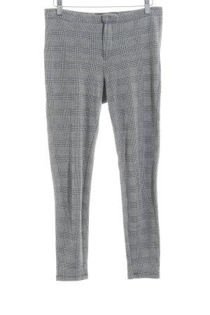 Mango Pantalon de jogging gris foncé-gris motif rayé style d'affaires