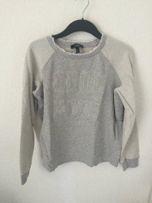 Mango Sweatshirt Grau