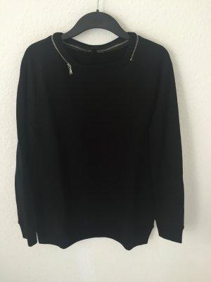 Mango Sweatshirt mit Reißverschluss Detail