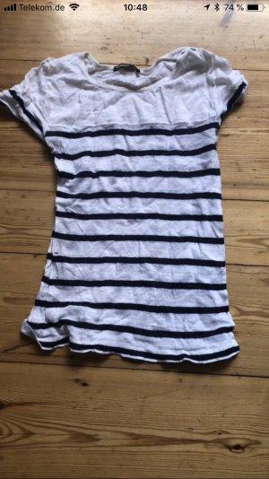 Mango T-Shirt in Marineoptik / Größe M