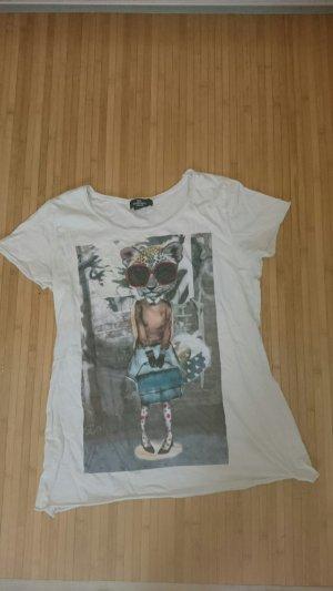 Mango T-Shirt mit ausgefallenem Aufdruck