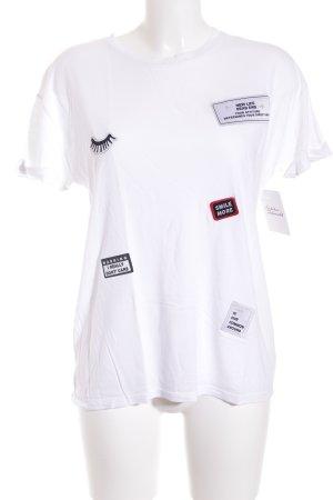 Mango T-Shirt weiß Casual-Look
