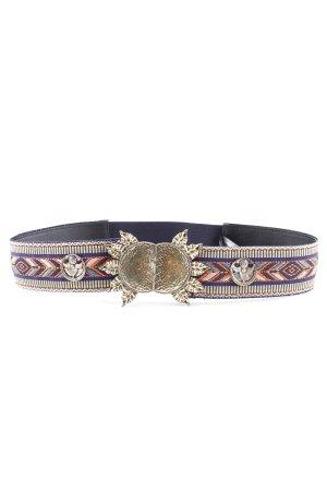 Mango Waist Belt Aztec pattern extravagant style