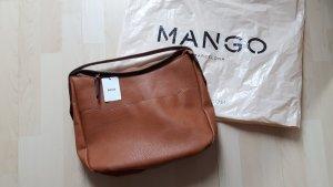 Mango Tasche Neu braun beige