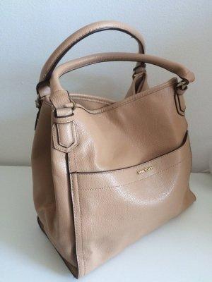 Mango Tasche neu Handtasche beige nude oversized Shopper