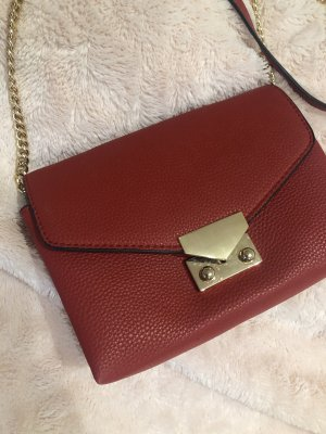 Mango Mini Bag gold-colored-red