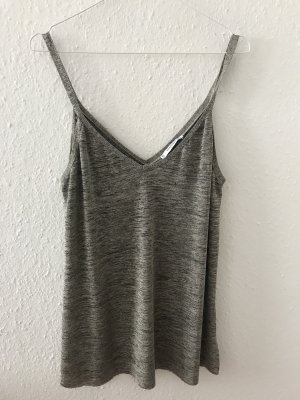 Mango Suit Camisoles silver-colored
