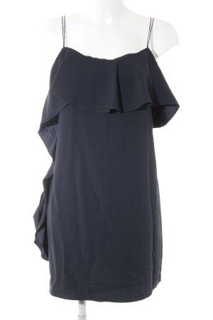 Mango Trägerkleid dunkelblau Elegant
