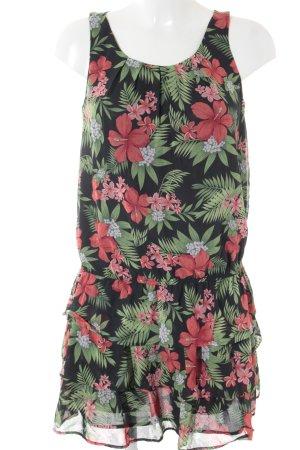 Mango Trägerkleid florales Muster Romantik-Look