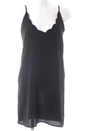 Mango Trägerkleid schwarz Elegant