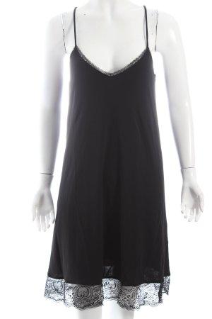 Mango Trägerkleid schwarz Eleganz-Look