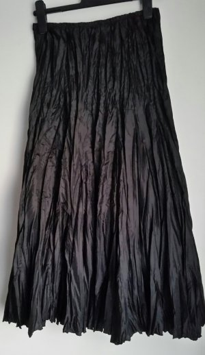 Mango Maxi gonna nero Poliestere