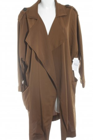 Mango Trench Coat brown casual look