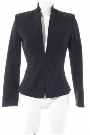 Mango Blazer Tweed negro look casual